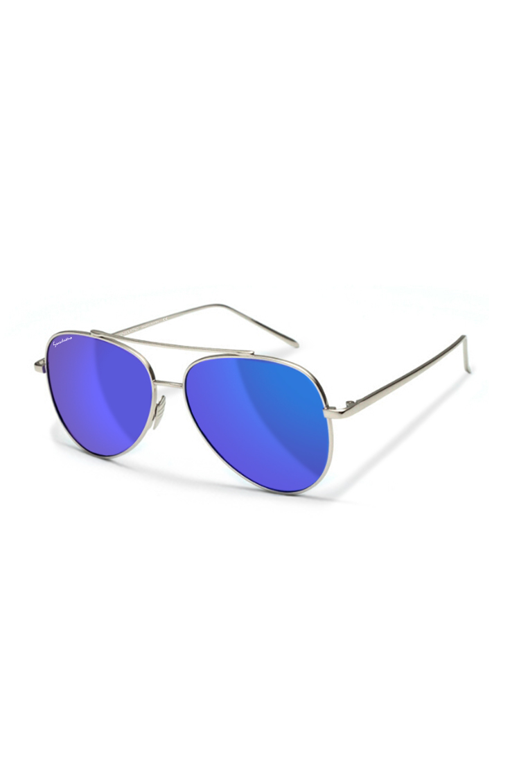 Sensolatino Series Aviatore Small With Blue Polarized Lenses - Sensolatino Eyewear