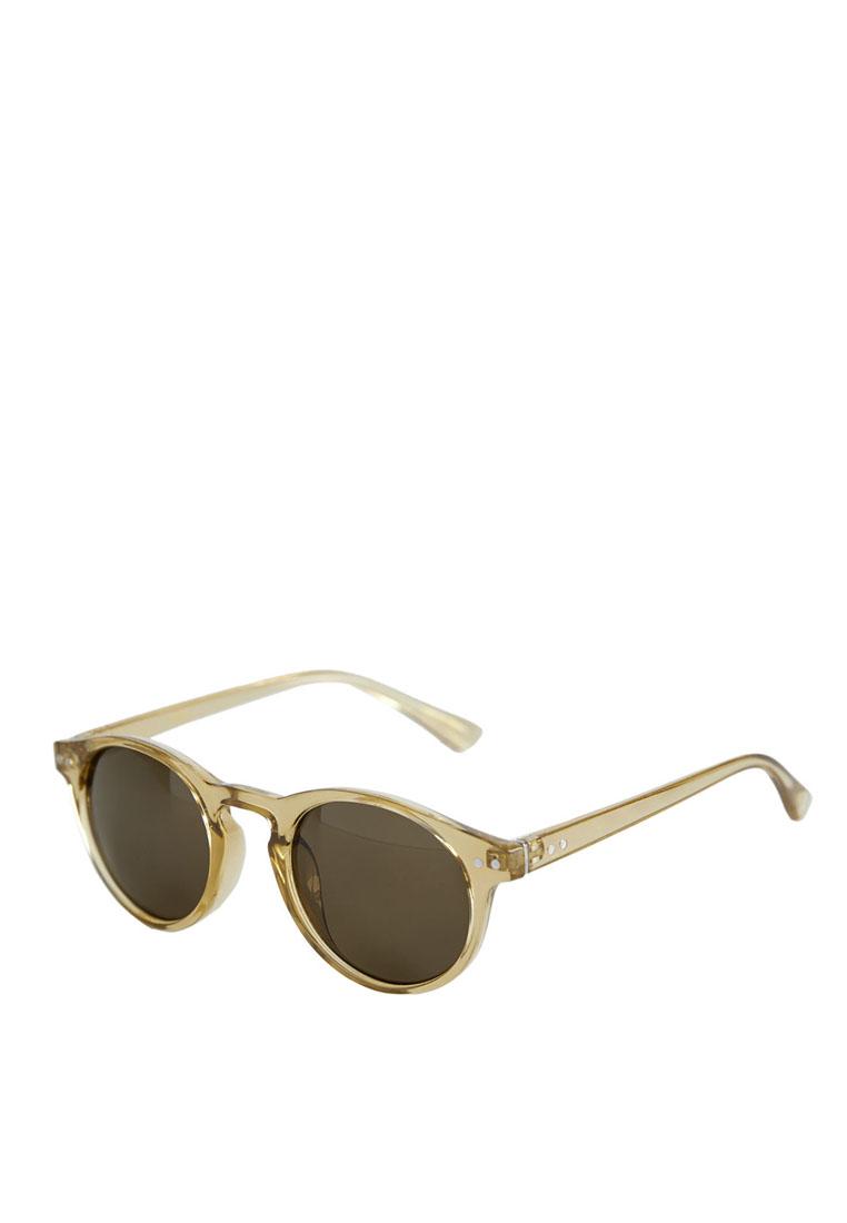 Acetate Frame Sunglasses - Green - Mango Man - Men