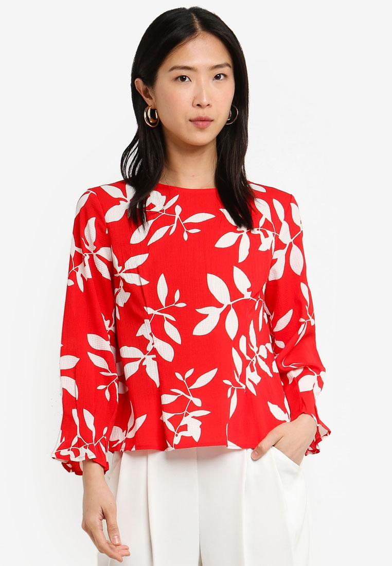 46b5f0bbd47d9 https   www.zalora.com.my ichi-snilla-blouse-white-1558691.html ...