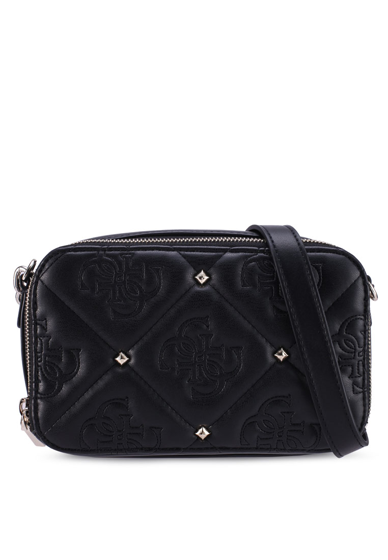 Jeana Mini Crossbody Camera Bag - Black - Guess