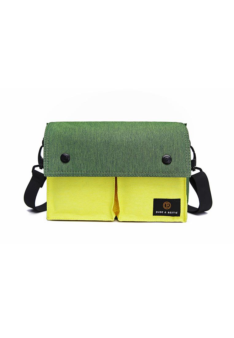 Wander Sling Bag - Green, Yellow - The Dude