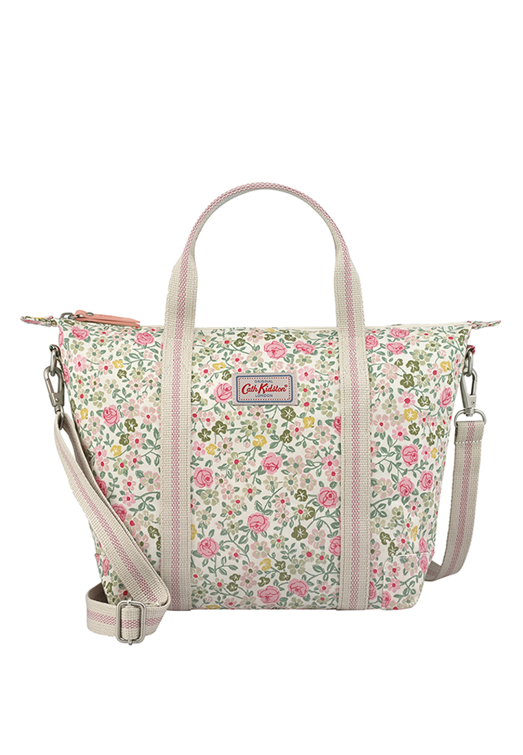 Hedge Rose Lightweight Cross Body Bag - Warm Cream - Cath Kidston