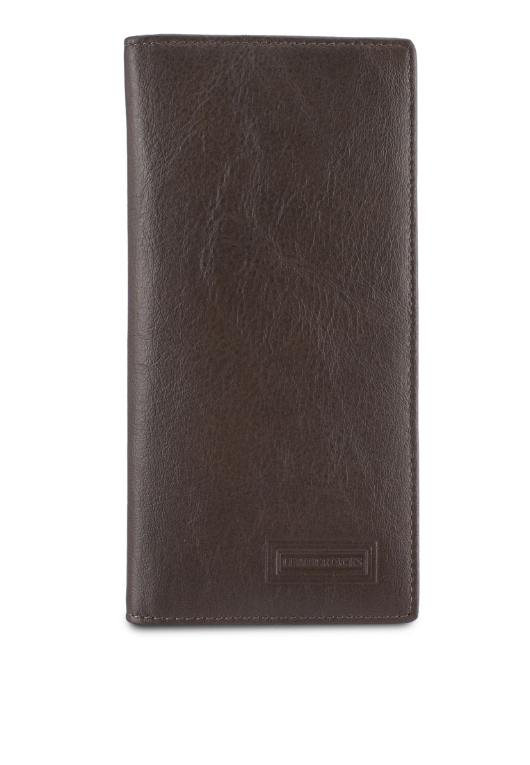Lumberjacks Genuine Leather Bi-Fold Long Wallet - Dark Khaki
