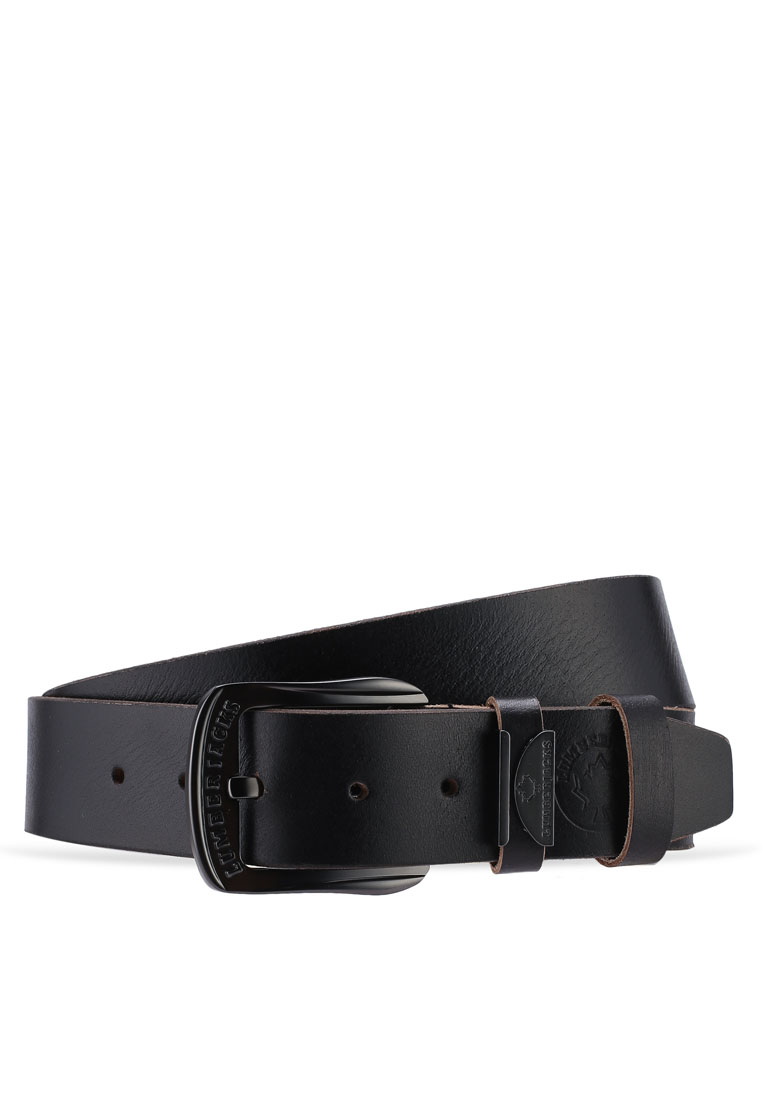 40mm Genuine Leather Belt - Black - Lumberjacks