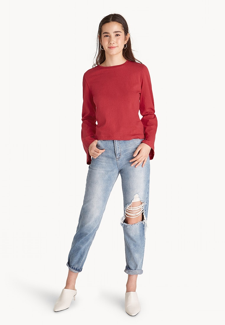 Tops Shoppr Malaysia Baju Jeans By Henni Collection