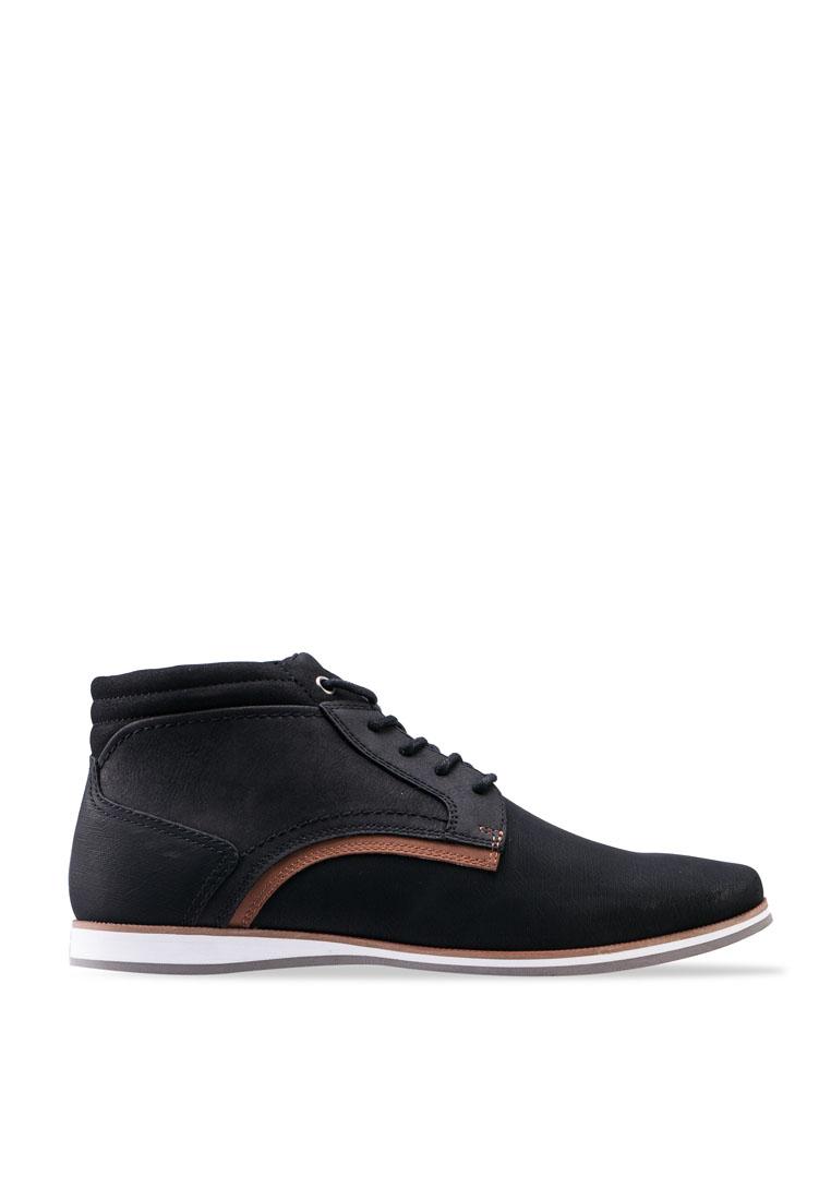 Afithien Mid Top Derby Shoes - Black - ALDO