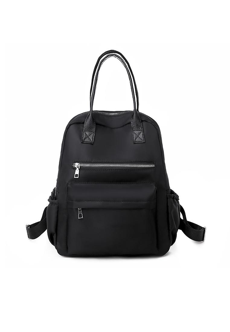 Afrenz Women Convertible Carry Backpack - Black - A FRENZ