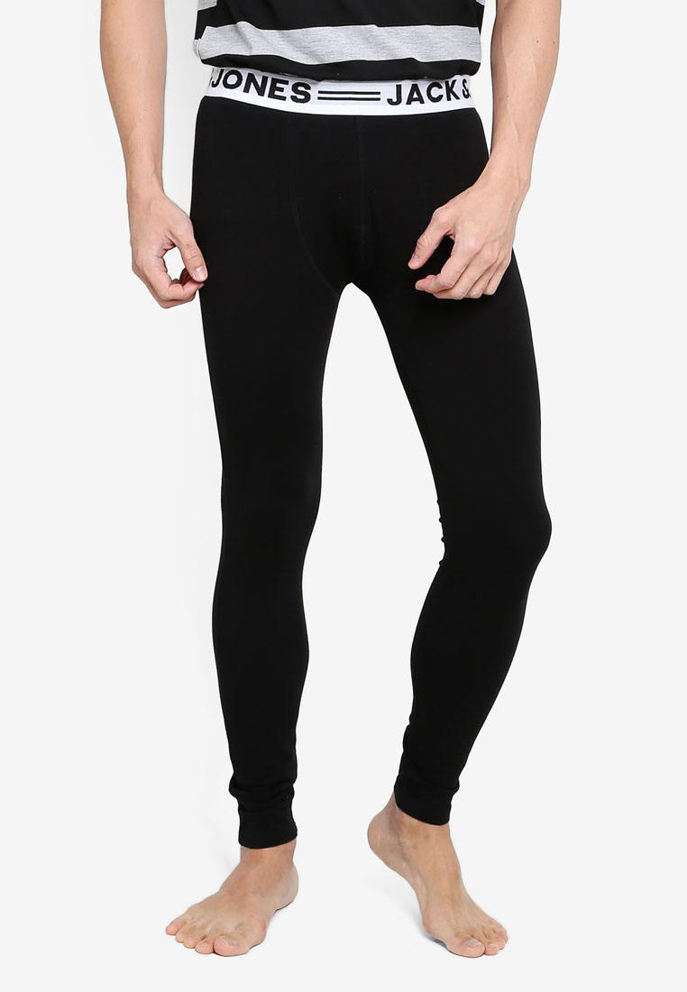 1 Pack Long Johns - Black/ - Jack & Jones