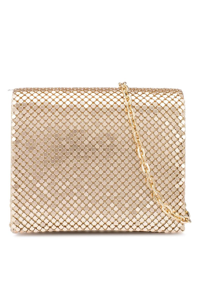 Montana Mini Gold Bag - TOPSHOP