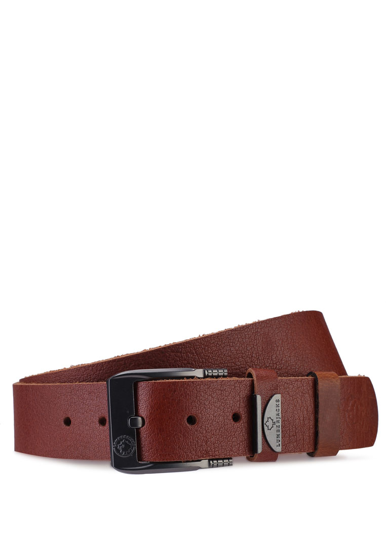 Lumberjacks 40mm Leather Belt - Tan