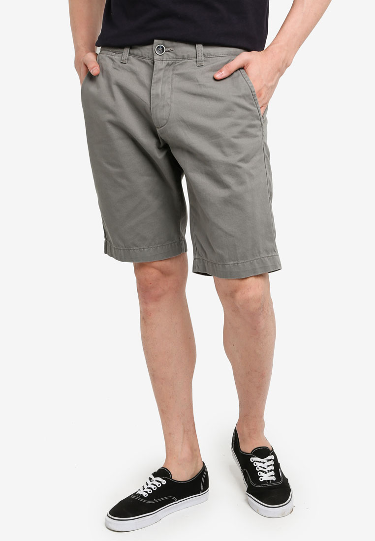 Casual Chino Shorts - Pewter - OVS